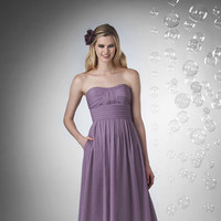 Bridesmaid Dresses, A-line Wedding Dresses, Fashion, purple, Spring, Summer, Modern, Classic, Strapless, Strapless Wedding Dresses, A-line, Floor, Chiffon, Natural, Hip, Modest, Sleeveless, Ruching, Bari Jay Bridesmaids, Modern Wedding Dresses, Spring Wedding Dresses, Classic Wedding Dresses, Chiffon Wedding Dresses, Summer Wedding Dresses, Floor Wedding Dresses, Modest Wedding Dresses, Hip Wedding Dresses