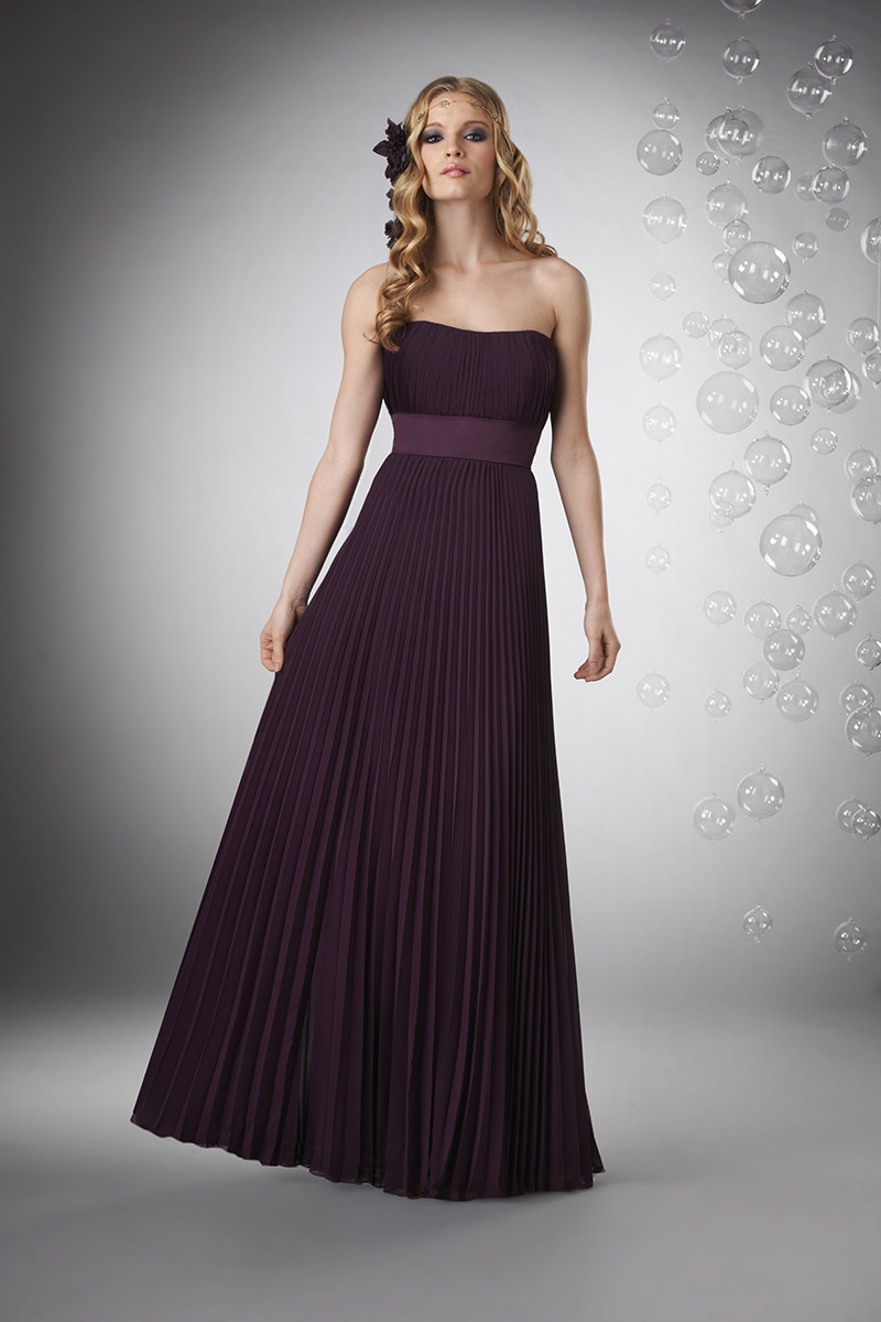 Bridesmaid Dresses, Sweetheart Wedding Dresses, A-line Wedding Dresses, Ruffled Wedding Dresses, Romantic Wedding Dresses, Fashion, purple, Spring, Summer, Fall, Winter, Modern, Romantic, Sweetheart, Strapless, Strapless Wedding Dresses, A-line, Empire, Floor, Chiffon, Formal, Ruffles, Pleats, Sleeveless, Bari Jay Bridesmaids, Modern Wedding Dresses, Spring Wedding Dresses, winter wedding dresses, Fall Wedding Dresses, Chiffon Wedding Dresses, Formal Wedding Dresses, Summer Wedding Dresses, Floor Wedding Dresses