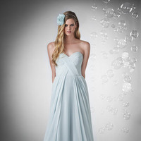 Bridesmaid Dresses, Sweetheart Wedding Dresses, A-line Wedding Dresses, Fashion, blue, Spring, Summer, Shabby Chic, Boho Chic, Sweetheart, Strapless, Strapless Wedding Dresses, A-line, Floor, Chiffon, Natural, Hip, Modest, Pleats, Sleeveless, Ruching, Bari Jay Bridesmaids, Boho Chic Wedding Dresses, Spring Wedding Dresses, Chiffon Wedding Dresses, Summer Wedding Dresses, Floor Wedding Dresses, Modest Wedding Dresses, Hip Wedding Dresses, Shabby Chic Wedding Dresses