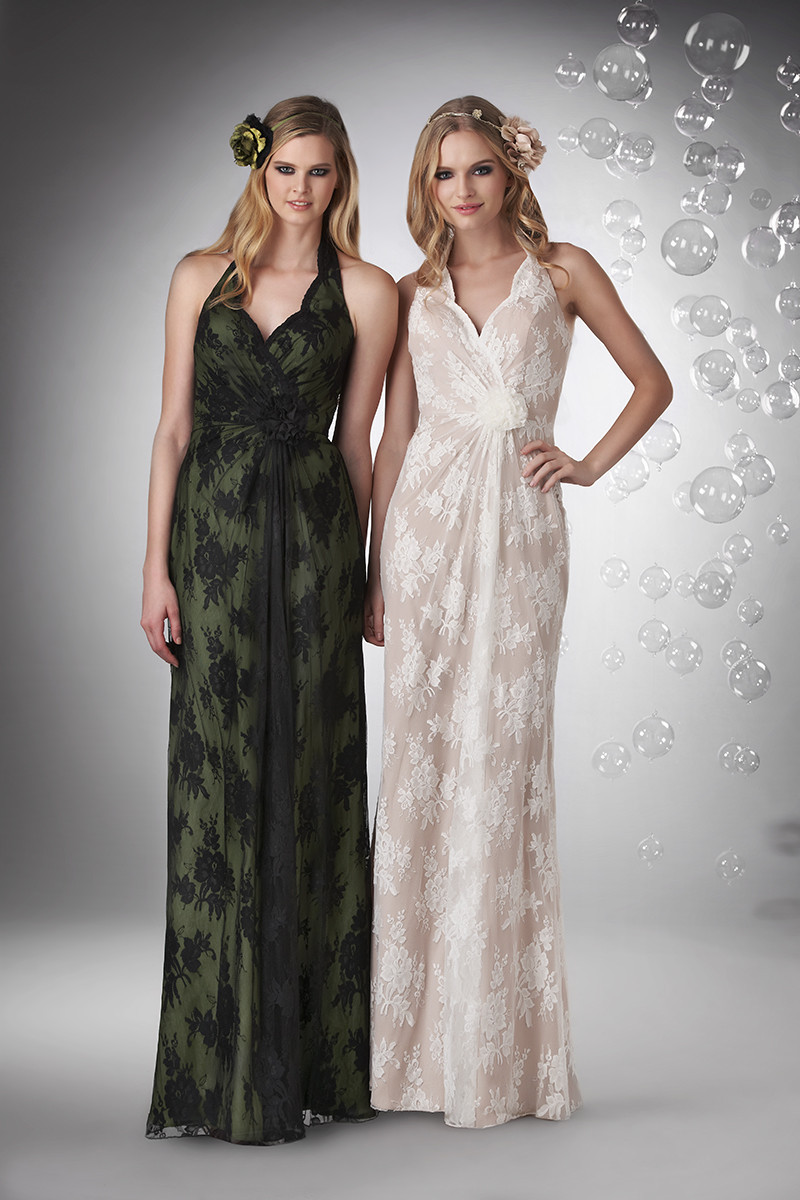 Bridesmaid Dresses, A-line Wedding Dresses, Fashion, ivory, black, Spring, Summer, Fall, Winter, Modern, Flowers, A-line, Halter, Floor, Chiffon, Formal, Natural, Hip, Modest, Sleeveless, Bari Jay Bridesmaids, Modern Wedding Dresses, halter wedding dresses, Spring Wedding Dresses, winter wedding dresses, Flower Wedding Dresses, Fall Wedding Dresses, Chiffon Wedding Dresses, Formal Wedding Dresses, Summer Wedding Dresses, Floor Wedding Dresses, Modest Wedding Dresses, Hip Wedding Dresses