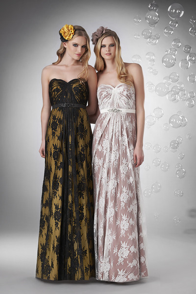Bridesmaid Dresses, Sweetheart Wedding Dresses, A-line Wedding Dresses, Lace Wedding Dresses, Hollywood Glam Wedding Dresses, Fashion, ivory, black, Flowers, Lace, Sweetheart, Strapless, Strapless Wedding Dresses, A-line, Empire, Floor, Formal, Hip, Sleeveless, Sash/Belt, hollywood glam, Bari Jay Bridesmaids, Flower Wedding Dresses, Formal Wedding Dresses, Floor Wedding Dresses, Hip Wedding Dresses, Sash Wedding Dresses, Belt Wedding Dresses