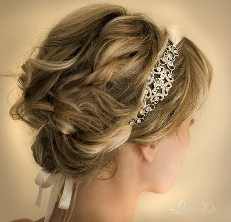 Beauty, Updo, Long Hair, Headbands