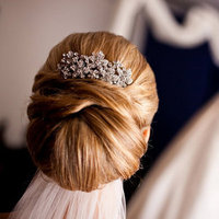 Beauty, Updo, Long Hair, Comb, Cignon