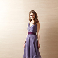 Bridesmaid Dresses, V-neck, Belsoie, Waistband, bridal fashion