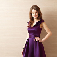 Bridesmaid Dresses, V-neck, Satin, Organza, Belsoie, bridal fashion