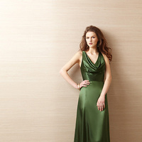 Bridesmaid Dresses, V-neck, Cowl, Belsoie, bridal fashion