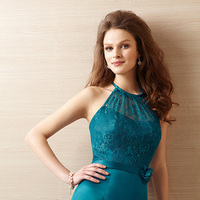 Bridesmaid Dresses, A-line, Halter, Belsoie, bridal fashion