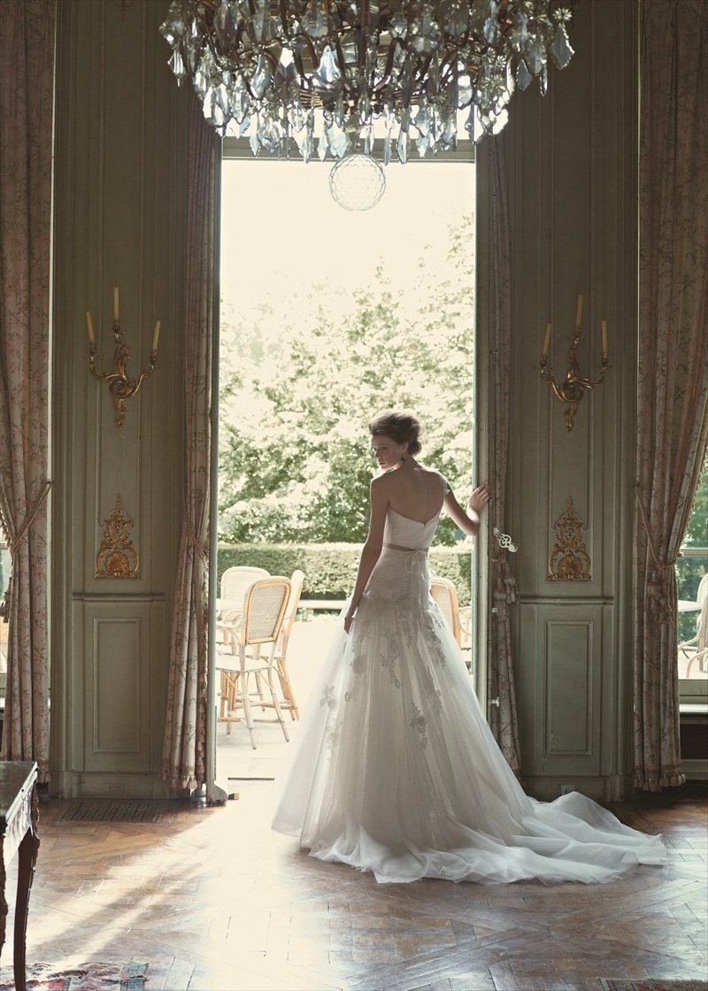 Wedding Dresses, A-line Wedding Dresses, Lace Wedding Dresses, Romantic Wedding Dresses, Hollywood Glam Wedding Dresses, Fashion, white, ivory, Shabby Chic, Romantic, Lace, Strapless, Strapless Wedding Dresses, A-line, Beading, Empire, Floor, Formal, Sleeveless, Sash/Belt, hollywood glam, Blue by Enzoani, Beaded Wedding Dresses, Formal Wedding Dresses, Floor Wedding Dresses, Shabby Chic Wedding Dresses, Sash Wedding Dresses, Belt Wedding Dresses