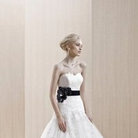 Wedding Dresses, Sweetheart Wedding Dresses, Mermaid Wedding Dresses, Lace Wedding Dresses, Fashion, white, ivory, Winter, Modern, Flowers, Lace, Sweetheart, Strapless, Strapless Wedding Dresses, Tulle, Floor, Formal, Ballroom, Museum, Fit-n-Flare, Blue by Enzoani, Modern Wedding Dresses, tulle wedding dresses, winter wedding dresses, Flower Wedding Dresses, Formal Wedding Dresses, Floor Wedding Dresses