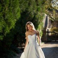 Wedding Dresses, Sweetheart Wedding Dresses, Fashion, Sweetheart, Anne barge, Strapless, Strapless Wedding Dresses, Tiers, Dropped, Taffeta, taffeta wedding dresses, Tiered Wedding Dresses
