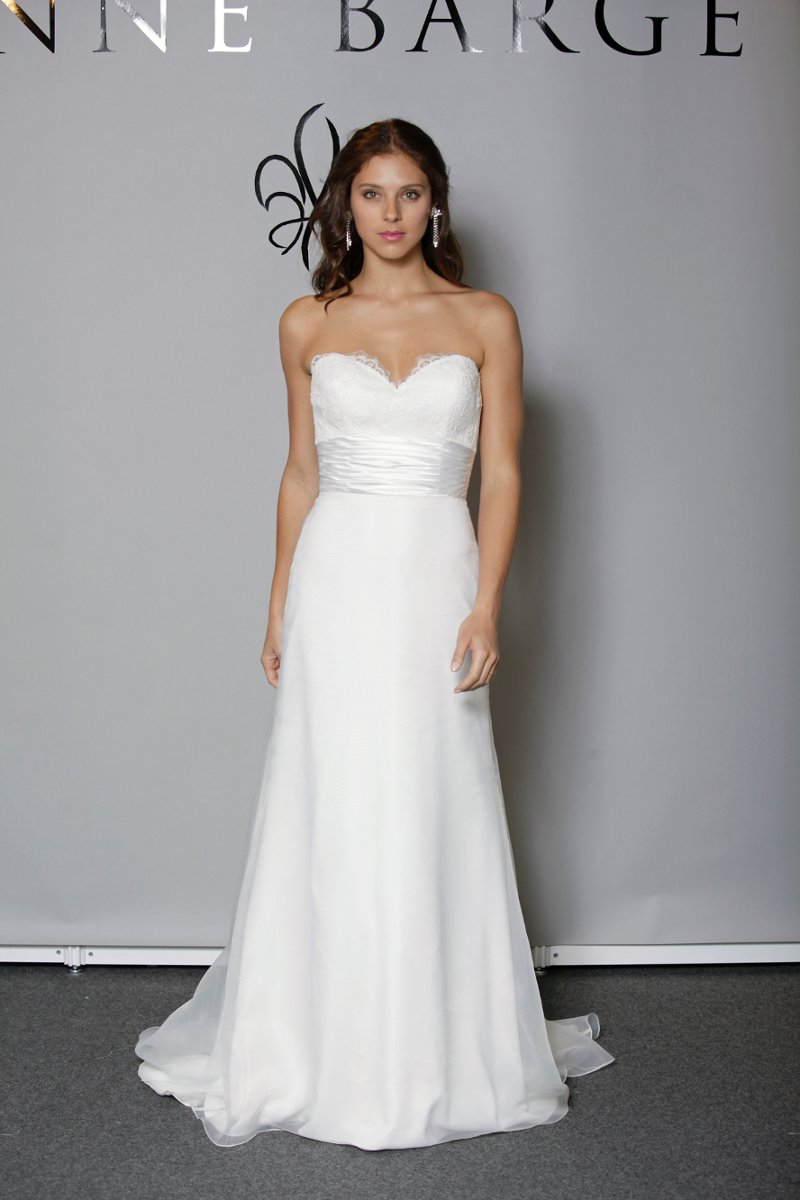 Wedding Dresses, Sweetheart Wedding Dresses, A-line Wedding Dresses, Lace Wedding Dresses, Fashion, white, ivory, Spring, Shabby Chic, Lace, Sweetheart, Anne barge, Strapless, Strapless Wedding Dresses, A-line, Empire, Floor, Formal, Organza, Modest, Sleeveless, Sash/Belt, organza wedding dresses, Spring Wedding Dresses, Formal Wedding Dresses, Floor Wedding Dresses, Modest Wedding Dresses, Shabby Chic Wedding Dresses, Sash Wedding Dresses, Belt Wedding Dresses