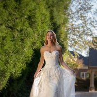 Wedding Dresses, Sweetheart Wedding Dresses, Fashion, Flowers, Sweetheart, Anne barge, Strapless, Strapless Wedding Dresses, Tulle, Petals, Organza, organza wedding dresses, tulle wedding dresses, Flower Wedding Dresses
