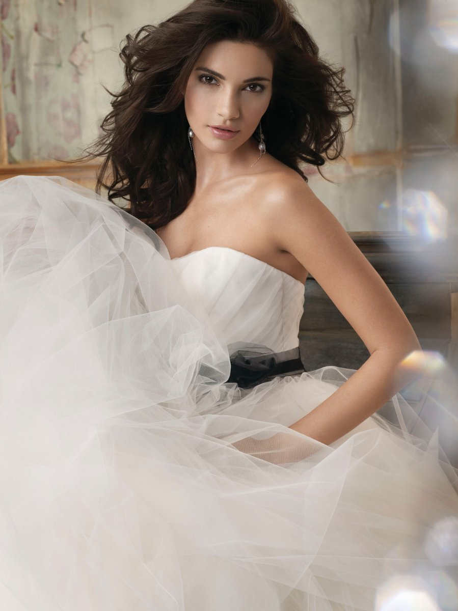 Wedding Dresses, Sweetheart Wedding Dresses, Ball Gown Wedding Dresses, Fashion, white, ivory, black, Flowers, Sweetheart, Strapless, Strapless Wedding Dresses, Tulle, Floor, Natural, Hip, Sleeveless, Ruching, Ball gown, Sash/Belt, Jim Hjelm Blush, tulle wedding dresses, Flower Wedding Dresses, Floor Wedding Dresses, Hip Wedding Dresses, Sash Wedding Dresses, Belt Wedding Dresses