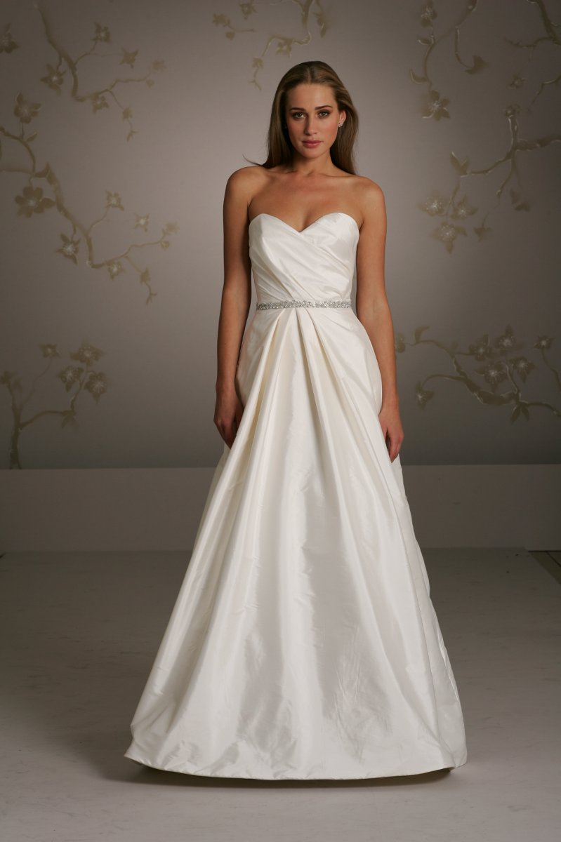 Wedding Dresses, Sweetheart Wedding Dresses, Ball Gown Wedding Dresses, Romantic Wedding Dresses, Fashion, white, ivory, Summer, Classic, Vineyard, Romantic, Sweetheart, Strapless, Strapless Wedding Dresses, Beading, Floor, Taffeta, Pleats, Sleeveless, Ball gown, Sash/Belt, Jim Hjelm Blush, Beaded Wedding Dresses, taffeta wedding dresses, Classic Wedding Dresses, Summer Wedding Dresses, Floor Wedding Dresses, Sash Wedding Dresses, Belt Wedding Dresses