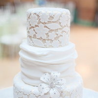 Cakes, Wedding Style, ivory, Beach Wedding Cakes, Classic Wedding Cakes, Ribbon Wedding Cakes, Round Wedding Cakes, Vintage Wedding Cakes, Wedding Cakes, Classic Weddings, lace wedding cakes