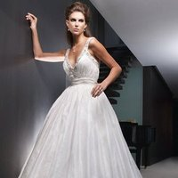 Wedding Dresses, Ball Gown Wedding Dresses, Fashion, ivory, Modern, Beading, V-neck, V-neck Wedding Dresses, Floor, Formal, Ballroom, Taffeta, Sleeveless, Ruching, Ball gown, Cb couture, historic site, modern space, Modern Wedding Dresses, Beaded Wedding Dresses, taffeta wedding dresses, Formal Wedding Dresses, Floor Wedding Dresses