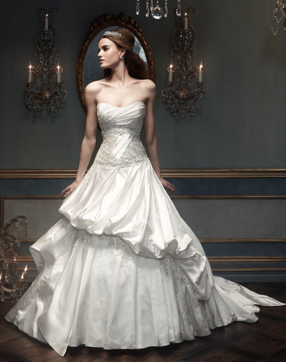 Wedding Dresses, Sweetheart Wedding Dresses, A-line Wedding Dresses, Ball Gown Wedding Dresses, Hollywood Glam Wedding Dresses, Fashion, white, ivory, silver, Sweetheart, Strapless, Strapless Wedding Dresses, A-line, Beading, Floor, Formal, Silk, Pleats, Sleeveless, Ball gown, Cb couture, hollywood glam, Beaded Wedding Dresses, Formal Wedding Dresses, Silk Wedding Dresses, Floor Wedding Dresses