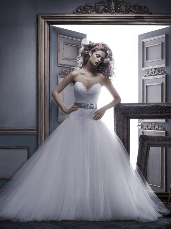 Ball gown, Ballroom, Beading, Cb couture, Floor, Formal, Hip, ivory, modern space, Pleats, Sash/Belt, Strapless, Sweetheart, Tulle, Wedding Dresses, Fashion, Strapless Wedding Dresses, Sweetheart Wedding Dresses, Floor Wedding Dresses, Beaded Wedding Dresses, Sash Wedding Dresses, Belt Wedding Dresses, tulle wedding dresses, Formal Wedding Dresses, Hip Wedding Dresses, Ball Gown Wedding Dresses
