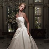 Wedding Dresses, A-line Wedding Dresses, Fashion, ivory, Winter, Modern, Strapless, Strapless Wedding Dresses, A-line, Beading, Floor, Formal, Natural, Ballroom, Silk, Ruching, Cb couture, historic site, Modern Wedding Dresses, Beaded Wedding Dresses, winter wedding dresses, Formal Wedding Dresses, Silk Wedding Dresses, Floor Wedding Dresses