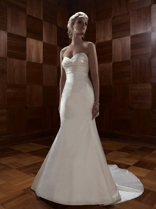 Wedding Dresses, Sweetheart Wedding Dresses, Mermaid Wedding Dresses, Fashion, ivory, Summer, Modern, Classic, Sweetheart, Strapless, Strapless Wedding Dresses, Floor, Formal, Ballroom, Silk, Ruching, Cb couture, Fit-n-Flare, modern space, Modern Wedding Dresses, Classic Wedding Dresses, Formal Wedding Dresses, Silk Wedding Dresses, Summer Wedding Dresses, Floor Wedding Dresses