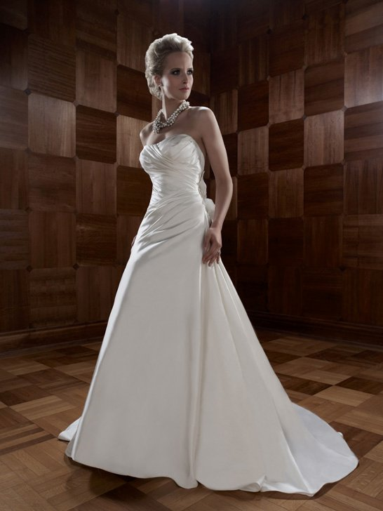 Wedding Dresses, A-line Wedding Dresses, Fashion, ivory, Summer, Modern, Flowers, Boho Chic, Strapless, Strapless Wedding Dresses, A-line, Floor, Formal, Ballroom, Silk, Ruching, Cb couture, historic site, Modern Wedding Dresses, Boho Chic Wedding Dresses, Flower Wedding Dresses, Formal Wedding Dresses, Silk Wedding Dresses, Summer Wedding Dresses, Floor Wedding Dresses