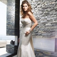 Wedding Dresses, Mermaid Wedding Dresses, Fashion, ivory, Classic, Strapless, Strapless Wedding Dresses, Beading, Floor, Formal, Ballroom, Silk, Museum, Ruching, Cb couture, Mermaid/Trumpet, historic site, modern space, Beaded Wedding Dresses, trumpet wedding dresses, Classic Wedding Dresses, Formal Wedding Dresses, Silk Wedding Dresses, Floor Wedding Dresses