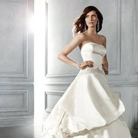Wedding Dresses, Ball Gown Wedding Dresses, Fashion, ivory, Modern, Strapless, Strapless Wedding Dresses, Beading, Floor, Formal, Ballroom, Silk, Tiers, Pick-ups, Ball gown, Cb couture, historic site, modern space, Modern Wedding Dresses, Beaded Wedding Dresses, Formal Wedding Dresses, Silk Wedding Dresses, Floor Wedding Dresses, Tiered Wedding Dresses