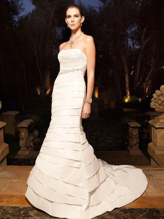 Wedding Dresses, Mermaid Wedding Dresses, Fashion, ivory, Summer, Modern, Strapless, Strapless Wedding Dresses, Beading, Floor, Ballroom, Country club, Hip, Taffeta, Pleats, Cb couture, Fit-n-Flare, modern space, Modern Wedding Dresses, Beaded Wedding Dresses, taffeta wedding dresses, Summer Wedding Dresses, Floor Wedding Dresses, Hip Wedding Dresses
