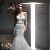 Wedding Dresses, Sweetheart Wedding Dresses, Mermaid Wedding Dresses, Lace Wedding Dresses, Romantic Wedding Dresses, Fashion, white, ivory, silver, Classic, Romantic, Lace, Sweetheart, Strapless, Strapless Wedding Dresses, Beading, Floor, Dropped, Sleeveless, Cb couture, Mermaid/Trumpet, Sash/Belt, Fit-n-Flare, Beaded Wedding Dresses, trumpet wedding dresses, Classic Wedding Dresses, Floor Wedding Dresses, Sash Wedding Dresses, Belt Wedding Dresses