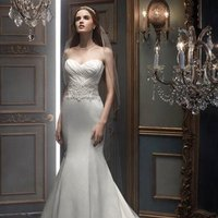 Wedding Dresses, Sweetheart Wedding Dresses, Mermaid Wedding Dresses, Fashion, white, silver, Classic, Sweetheart, Strapless, Strapless Wedding Dresses, Beading, Floor, Silk, Dropped, Sleeveless, Ruching, Cb couture, Mermaid/Trumpet, Fit-n-Flare, Beaded Wedding Dresses, trumpet wedding dresses, Classic Wedding Dresses, Silk Wedding Dresses, Floor Wedding Dresses