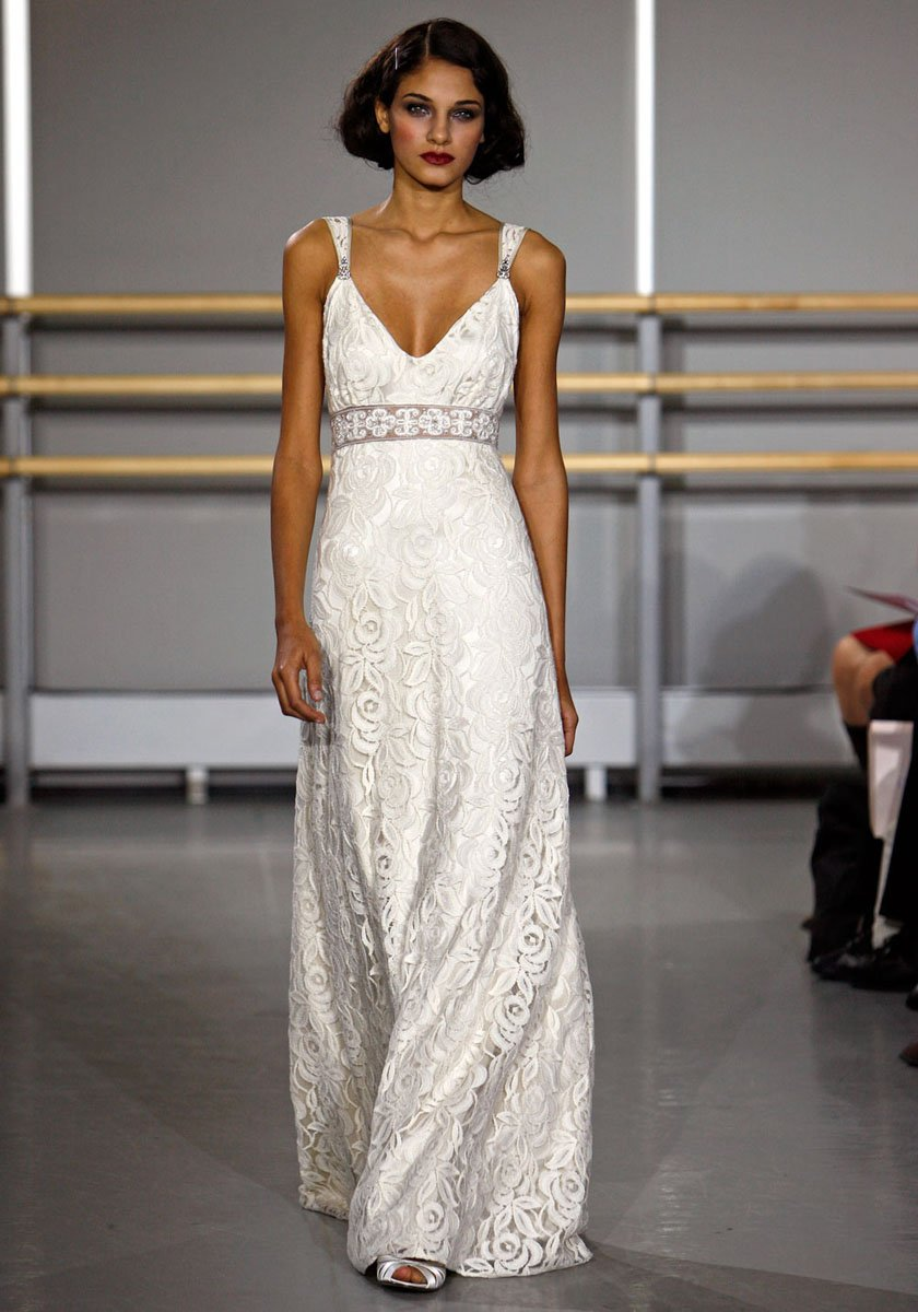 Wedding Dresses, Romantic Wedding Dresses, Vintage Wedding Dresses, Fashion, ivory, Vintage, Eco-Friendly, Garden, Boho Chic, Romantic, Destination, Beading, V-neck, V-neck Wedding Dresses, Sheath, Floor, Cotton, Sleeveless, Claire pettibone, Sash/Belt, historic site, Beaded Wedding Dresses, Boho Chic Wedding Dresses, Sheath Wedding Dresses, Floor Wedding Dresses, Cotton Wedding Dresses, Sash Wedding Dresses, Belt Wedding Dresses, Eco Friendly Wedding Dresses