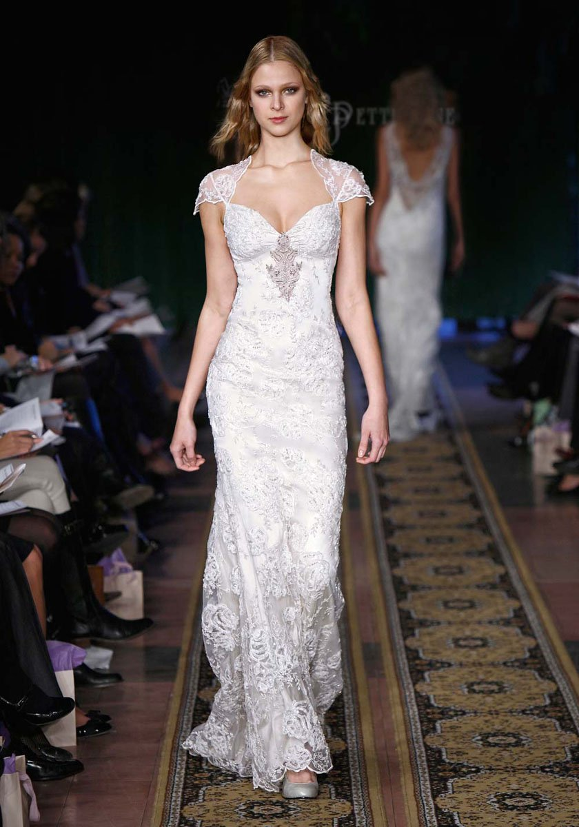 Wedding Dresses, Sweetheart Wedding Dresses, Vintage Wedding Dresses, Fashion, silver, Vintage, Eco-Friendly, Vineyard, Garden, Shabby Chic, Boho Chic, Sweetheart, Beading, Sheath, Tulle, Floor, Country, Claire pettibone, cap sleeve, illusion sleeves, Beaded Wedding Dresses, Boho Chic Wedding Dresses, tulle wedding dresses, Sheath Wedding Dresses, Floor Wedding Dresses, Shabby Chic Wedding Dresses, Eco Friendly Wedding Dresses