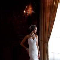 white, ivory, Summer, Classic, Lace, Sweetheart, Strapless, Floor, Formal, Country, Ballroom, Dropped, David tutera for mon cheri, Fit-n-Flare, historic site