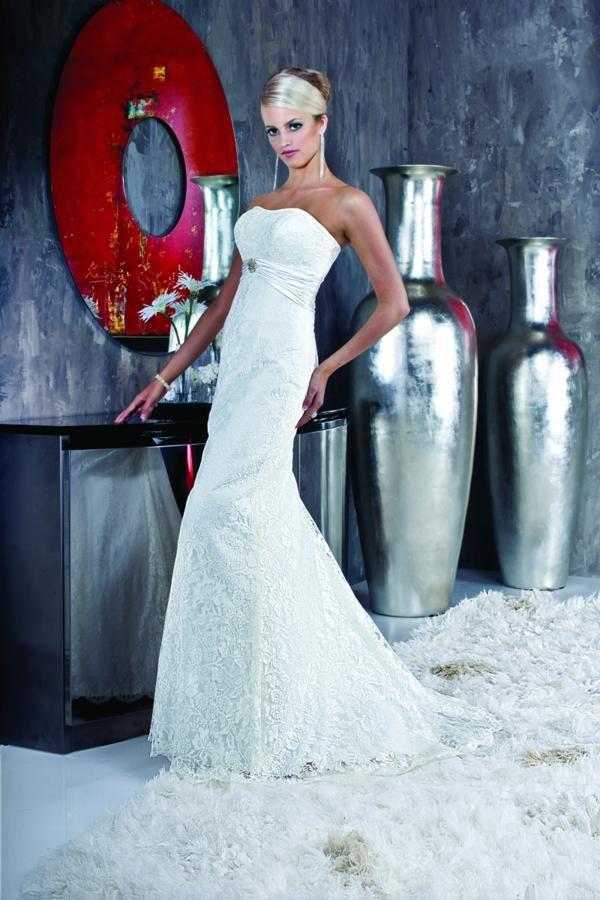 Wedding Dresses, Lace Wedding Dresses, Fashion, ivory, Modern, Lace, Beading, Empire, Sheath, Floor, Formal, Scoop, Modest, Sleeveless, Davinci bridal, Sash/Belt, Strapless  View, Modern Wedding Dresses, Beaded Wedding Dresses, Sheath Wedding Dresses, Formal Wedding Dresses, Scoop Neckline Wedding Dresses, Floor Wedding Dresses, Modest Wedding Dresses, Sash Wedding Dresses, Belt Wedding Dresses