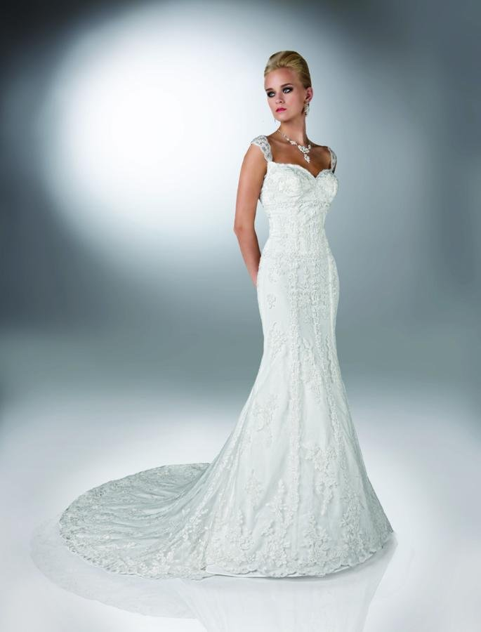 Wedding Dresses, Sweetheart Wedding Dresses, Mermaid Wedding Dresses, Lace Wedding Dresses, Fashion, white, ivory, Classic, Lace, Sweetheart, Beading, Sheath, Tulle, Floor, Formal, Dropped, Modest, Sleeveless, Davinci bridal, Fit-n-Flare, Beaded Wedding Dresses, Classic Wedding Dresses, tulle wedding dresses, Sheath Wedding Dresses, Formal Wedding Dresses, Floor Wedding Dresses, Modest Wedding Dresses