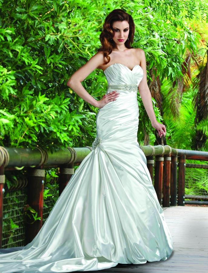 Wedding Dresses, Sweetheart Wedding Dresses, Mermaid Wedding Dresses, Fashion, white, ivory, Modern, Sweetheart, Strapless, Strapless Wedding Dresses, Beading, Empire, Floor, Formal, Silk, Pleats, Sleeveless, Ruching, Mermaid/Trumpet, Sash/Belt, Fit-n-Flare, Modern Wedding Dresses, Beaded Wedding Dresses, trumpet wedding dresses, Formal Wedding Dresses, Silk Wedding Dresses, Floor Wedding Dresses, Sash Wedding Dresses, Belt Wedding Dresses