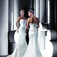 Wedding Dresses, A-line Wedding Dresses, Fashion, white, ivory, silver, Modern, Strapless, Strapless Wedding Dresses, A-line, Beading, Satin, Floor, Formal, Scoop, Dropped, Sleeveless, Davinci bridal, Modern Wedding Dresses, Beaded Wedding Dresses, satin wedding dresses, Formal Wedding Dresses, Scoop Neckline Wedding Dresses, Floor Wedding Dresses