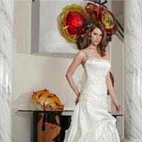 Wedding Dresses, A-line Wedding Dresses, Fashion, A-line, Spaghetti straps, Beading, Full skirt, Davinci bridal, dropped waist, square neck, beaded strapls, Beaded Wedding Dresses, Spahetti Strap Wedding Dresses