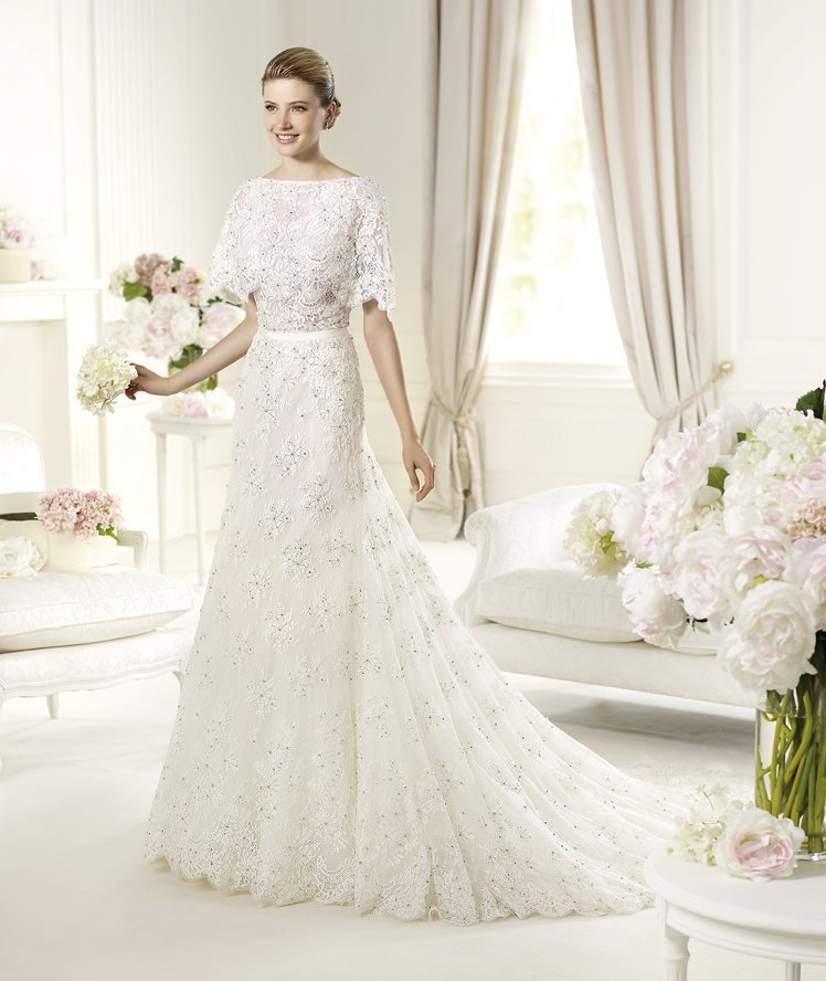 Magots magots from the elie by elie saab 2013 model for for Elie saab wedding dress 2013