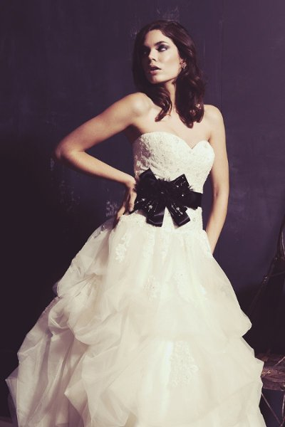 Wedding Dresses, Sweetheart Wedding Dresses, Ball Gown Wedding Dresses, Lace Wedding Dresses, Romantic Wedding Dresses, Fashion, white, ivory, Classic, Romantic, Lace, Sweetheart, Strapless, Strapless Wedding Dresses, Beading, Floor, Natural, Tiers, Sleeveless, Ball gown, Sash/Belt, Ella Rosa, Beaded Wedding Dresses, Classic Wedding Dresses, Floor Wedding Dresses, Sash Wedding Dresses, Belt Wedding Dresses, Tiered Wedding Dresses