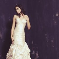 Wedding Dresses, Sweetheart Wedding Dresses, Mermaid Wedding Dresses, Romantic Wedding Dresses, Fashion, white, ivory, Classic, Romantic, Sweetheart, Strapless, Strapless Wedding Dresses, Beading, Satin, Floor, Dropped, Sleeveless, Mermaid/Trumpet, Ella Rosa, Beaded Wedding Dresses, trumpet wedding dresses, Classic Wedding Dresses, satin wedding dresses, Floor Wedding Dresses