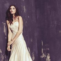 Wedding Dresses, Sweetheart Wedding Dresses, A-line Wedding Dresses, Romantic Wedding Dresses, Fashion, white, ivory, Classic, Romantic, Sweetheart, Strapless, Strapless Wedding Dresses, A-line, Beading, Satin, Floor, Dropped, Sleeveless, Ella Rosa, Beaded Wedding Dresses, Classic Wedding Dresses, satin wedding dresses, Floor Wedding Dresses
