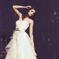 Wedding Dresses, Sweetheart Wedding Dresses, A-line Wedding Dresses, Fashion, white, ivory, Sweetheart, Strapless, Strapless Wedding Dresses, A-line, Beading, Floor, Organza, Natural, Sleeveless, Sash/Belt, Ella Rosa, Beaded Wedding Dresses, organza wedding dresses, Floor Wedding Dresses, Sash Wedding Dresses, Belt Wedding Dresses