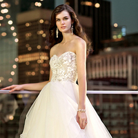 Wedding Dresses, Sweetheart Wedding Dresses, Fashion, Sweetheart, Strapless, Strapless Wedding Dresses, Natural waist, Tulle, Essense of australia, crystal beading, tulle wedding dresses