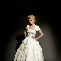 Fashion, ivory, Silk, Wedding dress, Floor, Eugenia couture, Ball gown, Avant-Garde, Floor Wedding Dresses, Silk Wedding Dresses, Ball Gown Wedding Dresses