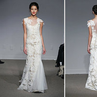 Wedding Dresses, Illusion Neckline Wedding Dresses, Lace Wedding Dresses, Rustic Vineyard Wedding Dresses, Fashion, Wedding Dresses with Sleeves