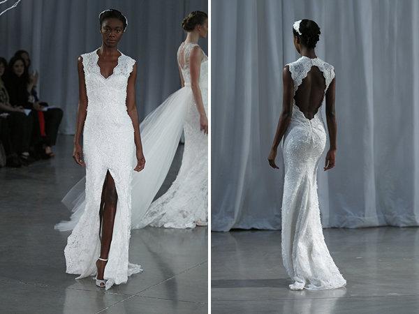 Wedding Dresses, Lace Wedding Dresses, Romantic Wedding Dresses, Rustic Vineyard Wedding Dresses, Fashion, V-neck Wedding Dresses