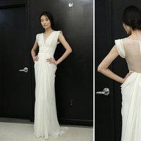 Wedding Dresses, Vintage Wedding Dresses, Fashion, V-neck Wedding Dresses, Wedding Dresses with Sleeves