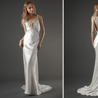 Wedding Dresses, Vintage Wedding Dresses, Fashion, V-neck Wedding Dresses