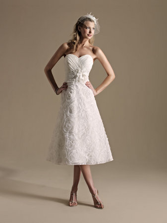 Wedding Dresses, Sweetheart Wedding Dresses, Vintage Wedding Dresses, Fashion, Kenneth Winston, Tea Length Wedding Dresses